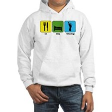 Eat, Sleep, Reflexology Hoodie