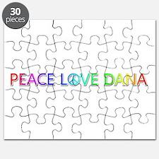 Peace Love Dana Puzzle