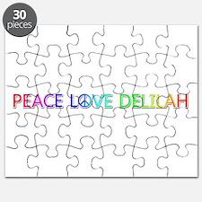 Peace Love Delilah Puzzle