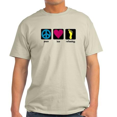 Peace, Love, Reflex Light T-Shirt