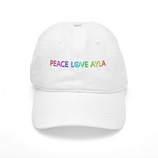 Peace Love Ayla Baseball Cap