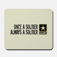 U.S. Army: Once a Soldier (Sand) Mousepad