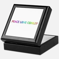 Peace Love Conley Keepsake Box