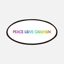 Peace Love Camron Patch