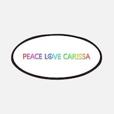 Peace Love Carissa Patch