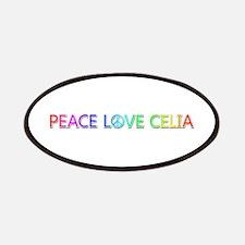 Peace Love Celia Patch