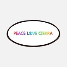 Peace Love Cierra Patch