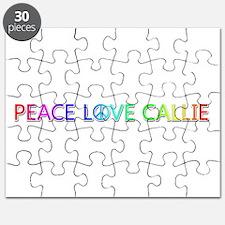 Peace Love Callie Puzzle
