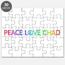 Peace Love Chad Puzzle