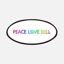 Peace Love Bell Patch