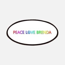 Peace Love Brenda Patch