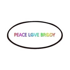 Peace Love Brody Patch
