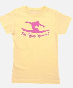 Funny Flying squirrel Girl's Tee