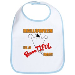 Halloween is Boootiful Bib
