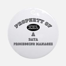 Property of a Data Processing Manager Ornament (Ro