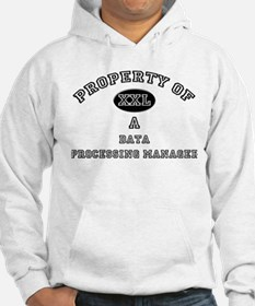 Property of a Data Processing Manager Hoodie