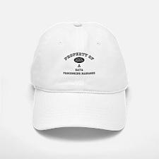 Property of a Data Processing Manager Baseball Baseball Cap