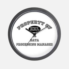 Property of a Data Processing Manager Wall Clock