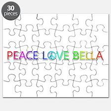 Peace Love Bella Puzzle