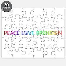 Peace Love Brendon Puzzle