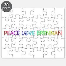 Peace Love Brennan Puzzle