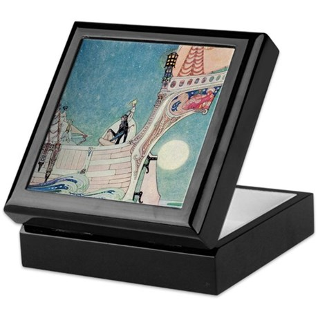 The Man Who Never Laughed Keepsake Box