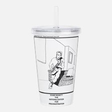Unique Anxiety Acrylic Double-wall Tumbler