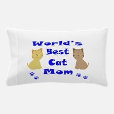World's Best Cat Mom Pillow Case