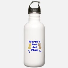 World's Best Cat Mom Water Bottle