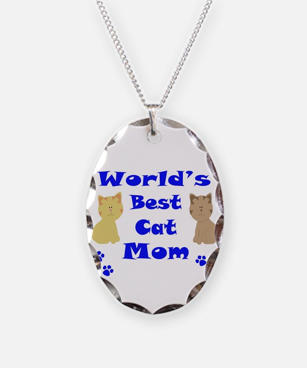 World's Best Cat Mom Necklace