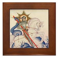 St. George Framed Tile
