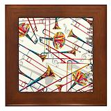 Trombone Framed Tiles