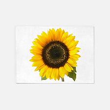 sunflower 5'x7'Area Rug