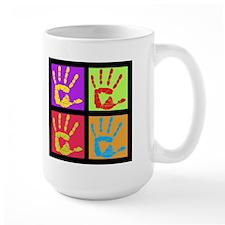 Pop Art Hands Mug