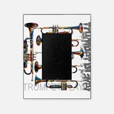 Trumpet Player Art Design by Juleez Picture Frame