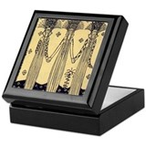Art deco Keepsake Boxes
