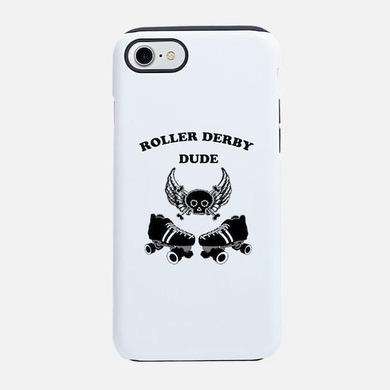 Roller Derby Dude iPhone 8/7 Tough Case