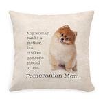 Pomeranian Mom Everyday Pillow