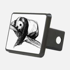 Bear Lying On A Tree Hitch Cover