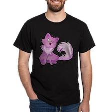 Pink Monster Cat For Halloween T-Shirt