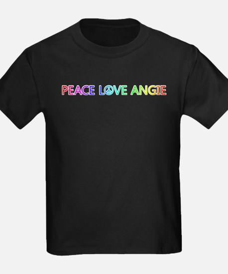 Peace Love Angie T-Shirt