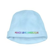 Peace Love Angelique baby hat