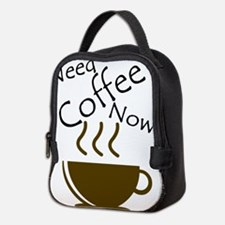 Need Coffee Now! Neoprene Lunch Bag