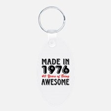 Made in 1976, 40 Years of Being Awesome Keychains