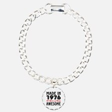 Made in 1976, 40 Years of Being Awesome Bracelet