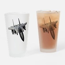 Cute Eagle military Drinking Glass