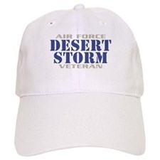 DESERT STORM AIR FORCE VETERAN Baseball Cap