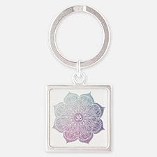 Cute Spiritual Square Keychain