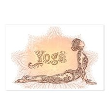 Cute Yoga Postcards (Package of 8)