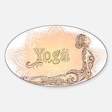 yoga Decal